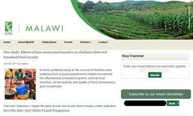 Malawi | IFPRI