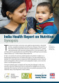 India health report on nutrition: Synopsis