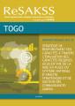 Stratégie de renforcement des capacités à travers l'évaluation des capacités requises (ECR) en vue de la mise es place du sustème national d'analyse Stratégique et de gestion des connaissances (SAKSS): Togo