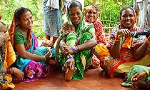 Women's focus group in Odisha, India.