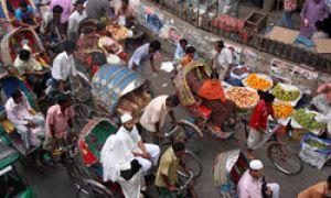 Street scenes in Dhaka, Bangladesh