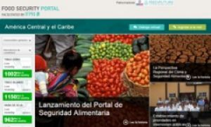 Central America Food Security Portal