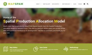 MapSPAM website