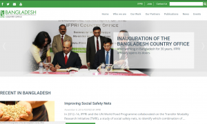 Bangladesh Country Office Website