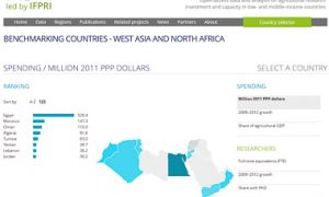 Benchmarking countries - West Asia and North Africa