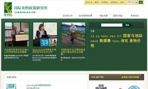 IFPRI China website