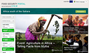 Africa south of Sahara Food Security Portal