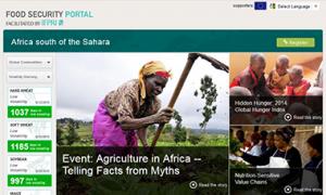 Africa south of Sahara Food Security Portal