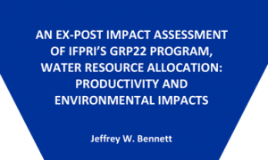 Productivity and environmental impacts