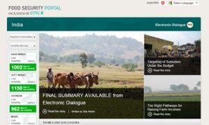 India Food Security Portal