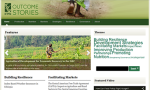 Outcome Stories website