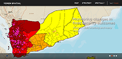 Screenshot of Arab Spatial website (July 1, 2014).