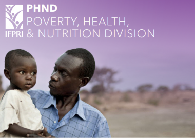 Poverty, Health, and Nutrition (PHND) | IFPRI