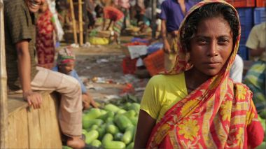 Woman in Bangladesh market
