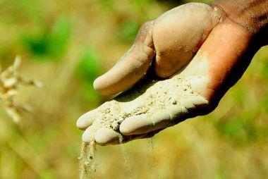 Soil. Ghana.