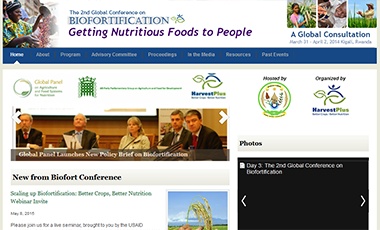 Biofortification Conference Website