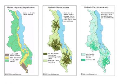 Detailed crop suitability maps and an agricultural zonation scheme