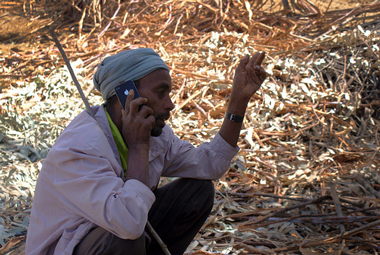 Ethiopia Farmer Mobile Phone