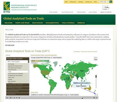 Global Analytical Tools on Trade