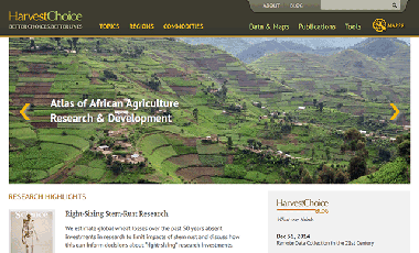HarvestChoice Website