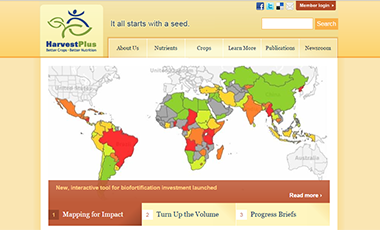 HarvestPlus website