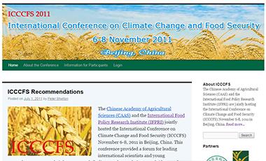 ICCCFS Website