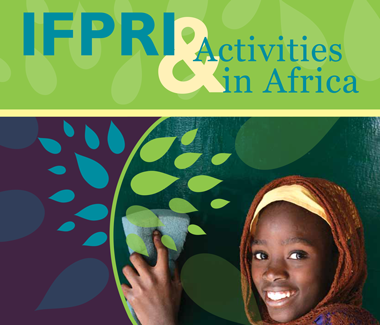 IFPRI activities in Africa