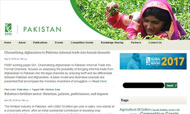 Pakistan Strategy Support Program Website