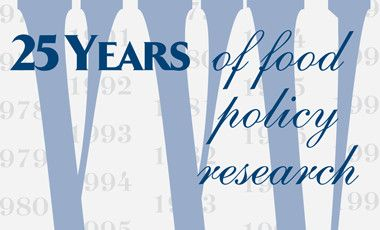 25 Years of Food Policy Research